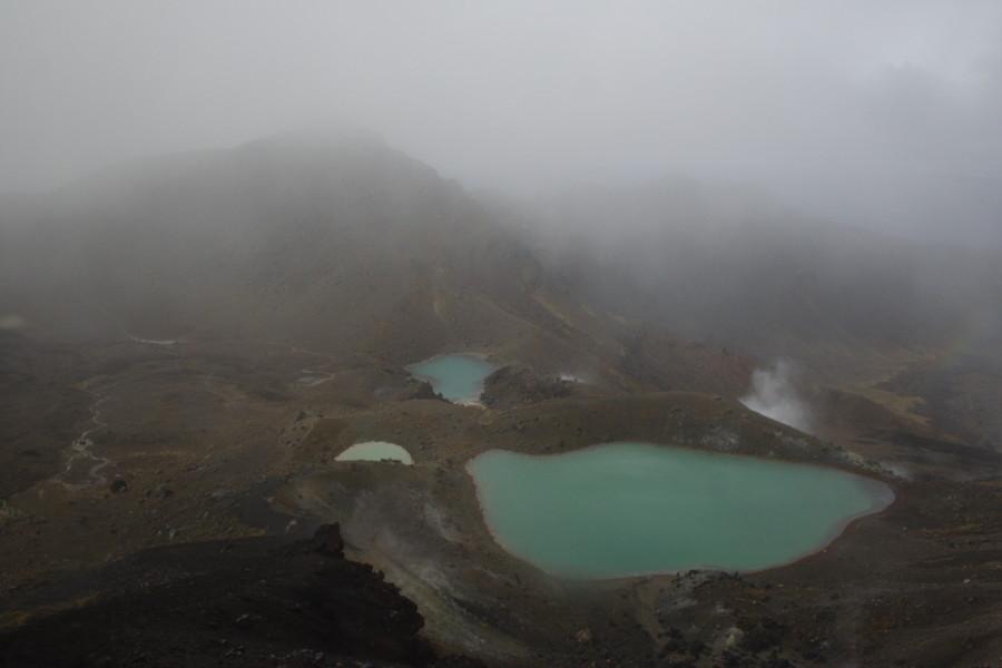 Nový Zéland - Tongariro Crossing - 5 minut po pěkném počasí