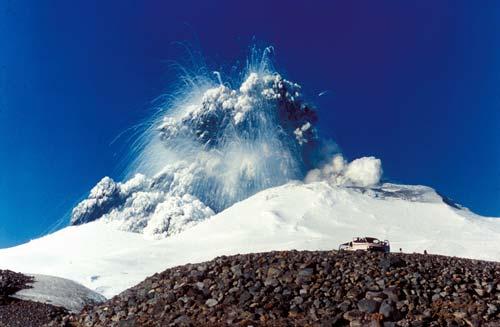 Mount Ruapehu - erupce